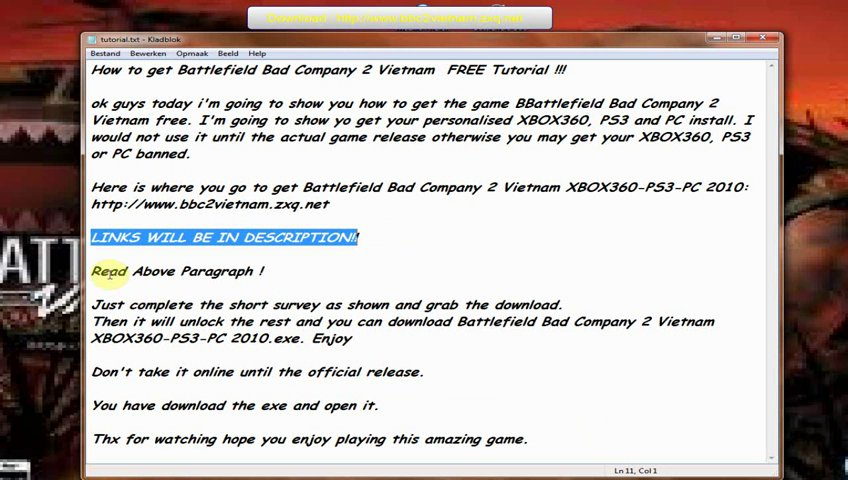 Cracked Battlefield Bad Company 2 Vietnam For FREE - From Dailymotion.