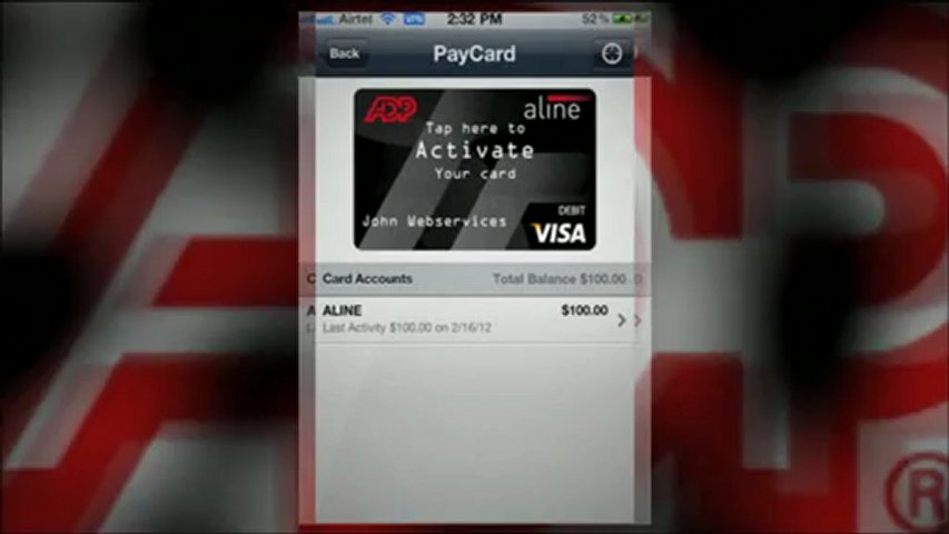 how to add money to adp card