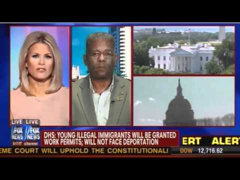 Col. Allen West talks Obama's NEW no-deportie ILLEGALS. | PopScreen