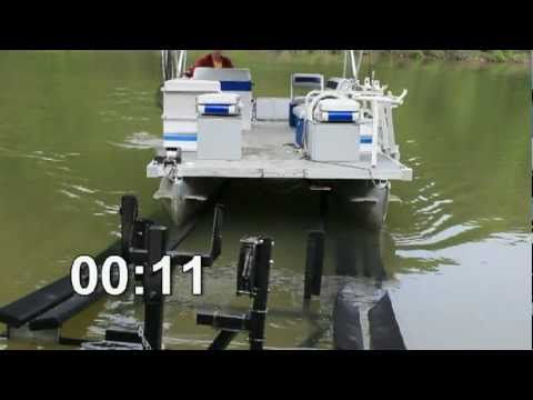 Pontoon Boat Trailer Guide and Auto Latch | PopScreen