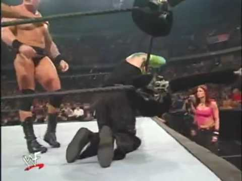 Jeff Hardy with Lita VS Brock Lesnar and Paul heyman | PopScreen
