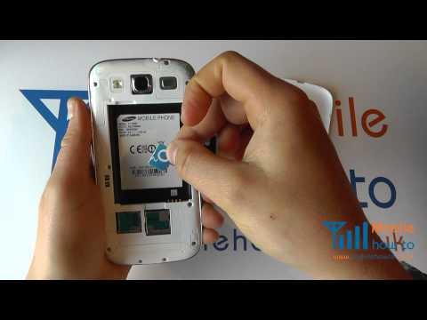 How To Inser/Remove Micro SIM - Samsung Galaxy S3 | PopScreen