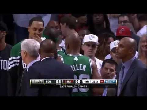 Emotional Exit For BIG 3 in Game 7 | PopScreen