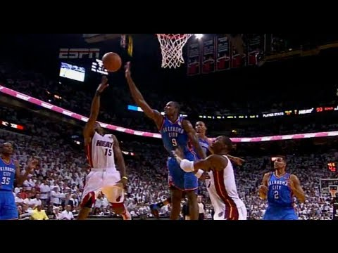 Mario Chalmers Clutch 4th Quarter Play - Game 4 2012 NBA Finals | PopScreen