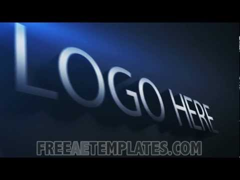 Free modern after effects logo template logo elegance for Free after effects logo templates