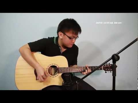 Dove Guitar DD-22C | PopScreen