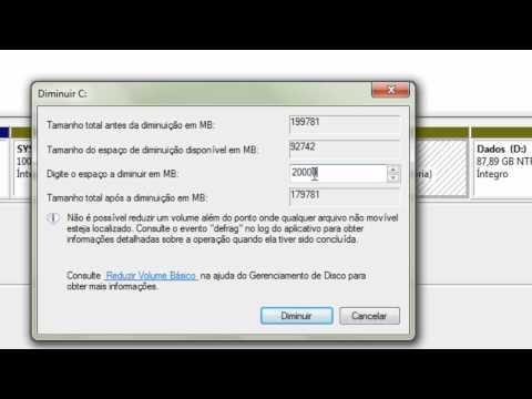 Como transferir memória do drive D: para o C: ou vice-versa. | PopScreen