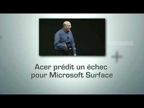 L'actu du numérique 25.06.12 : Blackberry racheté ? / Microsoft Surface / Chaos To Perfection | PopScreen