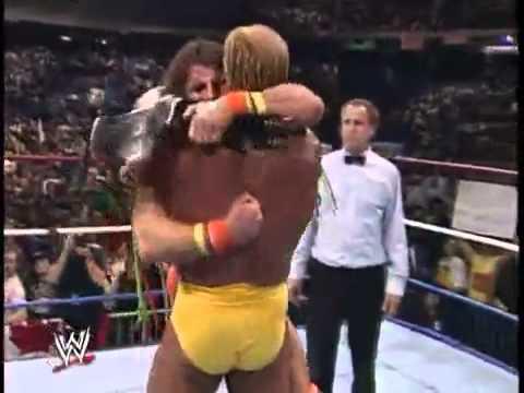 Ultimate Warrior vs Hulk Hogan