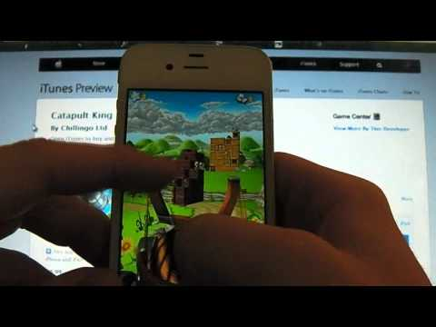 AppOfTheWeek || Catapult King App Review for iDevices (HD) | PopScreen