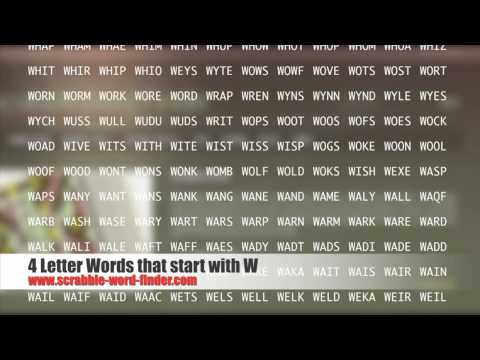 letter words that start with W | PopScreen