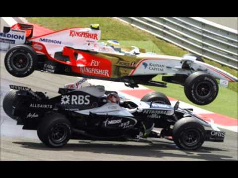 Accident Maria de Villota Crash at Duxford F-1 | PopScreen