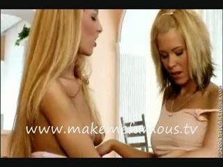 Lesbians kissing and rubbing each other | PopScreen