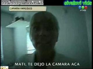 Argentina nazarena velez en tetas y tanga camara en mano | PopScreen