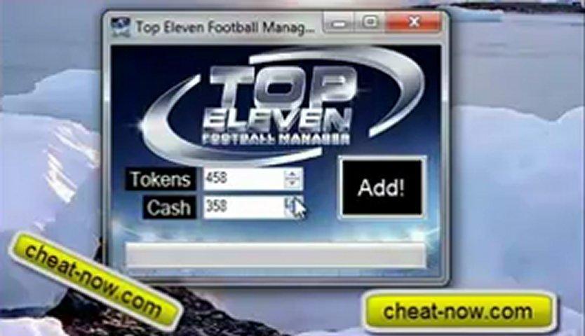 Top Eleven Football Manager Cheat/Hack [Tokens/Cash] v3.6 | PopScreen