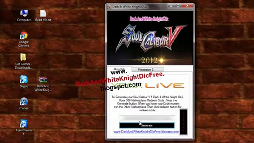 Soul Calibur 5  Dark & White Knight Armor DLC Free Giveaway | PopScreen