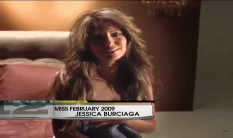JESSICA BURCIAGA-MISS.FEBUARY 2009(2) | PopScreen