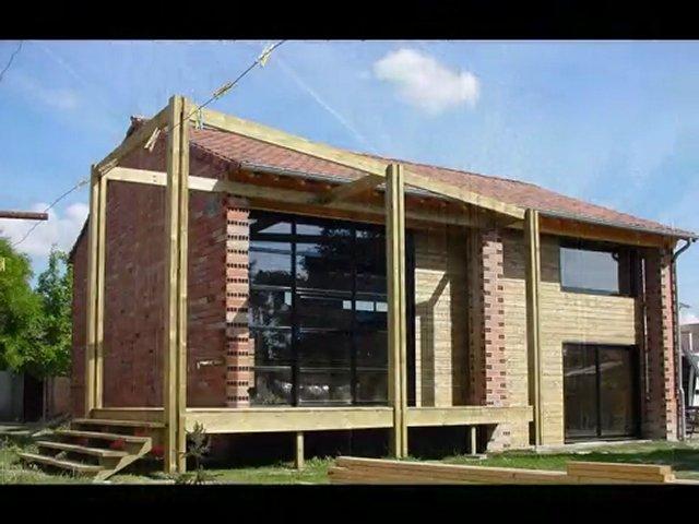 Ossature bois amenagement d 39 un hangar agricole en habitation popscreen - Amenagement hangar en habitation ...