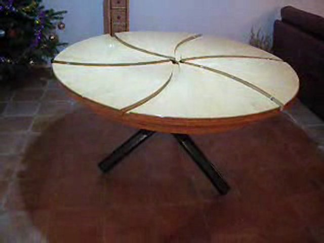 Table magique popscreen - Table ronde modulable ...