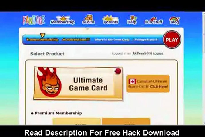 Fantage Hacks 2011 - Free Membership Hack | PopScreen