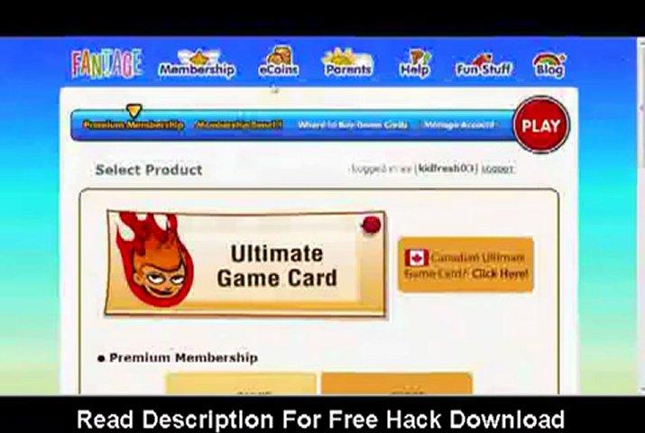 Fantage Hacks 2011 - Free Membership Hack | PopScreen