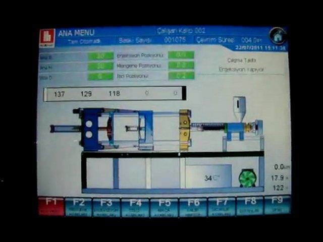 Hürmak Plastik Enjeksiyon Makinesi / HURMAK Injection Molding Machine | PopScreen