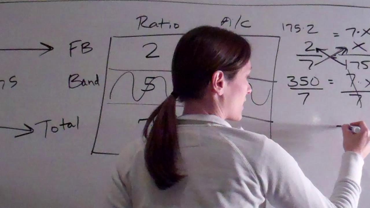 Lesson 101 - Ratio Problems Involving Totals   PopScreen