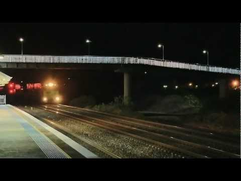 Pacific National Steel Train Late at Night in NSW - Australian Railways, Railroads and #1 Trains | PopScreen