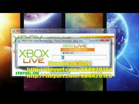 Free XBOX LIVE Gold Membership Points Generator 2012 3.0v Code Point Microsoft NEW ! | PopScreen