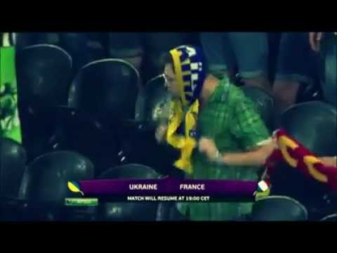 funny supporter l ukraine vs france edition dance. Black Bedroom Furniture Sets. Home Design Ideas