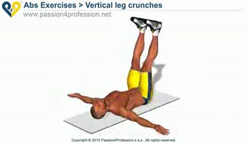 Vertical Leg Crunch Vertical Leg Crunches Upper