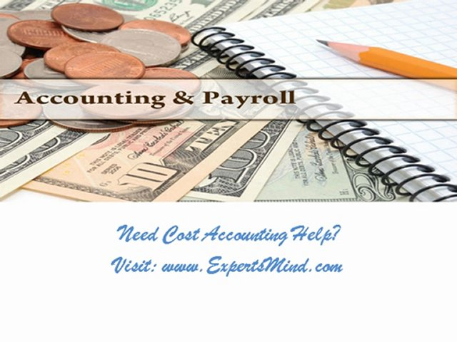 cost accounting assignment help