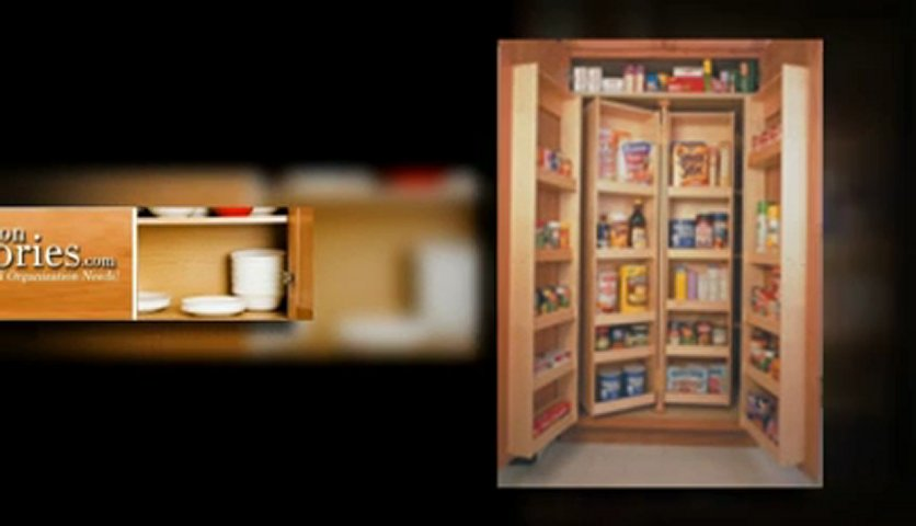 2 Kitchen Pantry Shelving Units