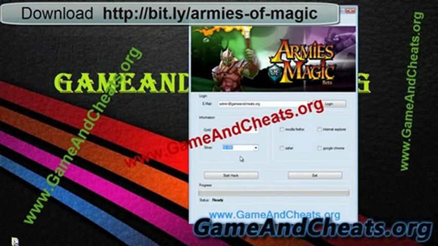 Armies of Magic [Cheat] FREE Download Hack May June 2012 [Update]