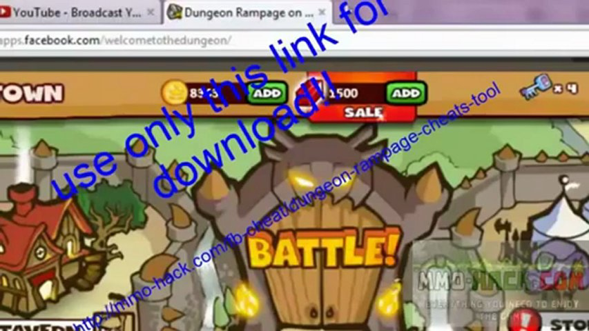 Dungeon Rampage # Hack # Cheat # May 2012 Update Download | PopScreen