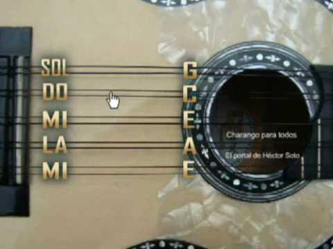 AFINACION DEL CHARANGO - HECTOR SOTO - how to tune a charango | PopScreen