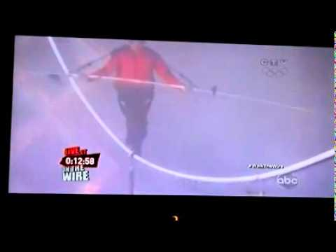 Nik Wallenda completes craziest stunt over Niagara Falls tightrope walk [Full Video, HD] | PopScreen