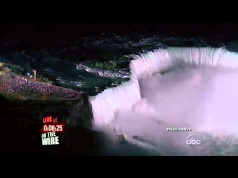 Nik Wallenda Niagra Falls Tightrope Highwire Walk - Part 1 (Traversing the Falls) | PopScreen