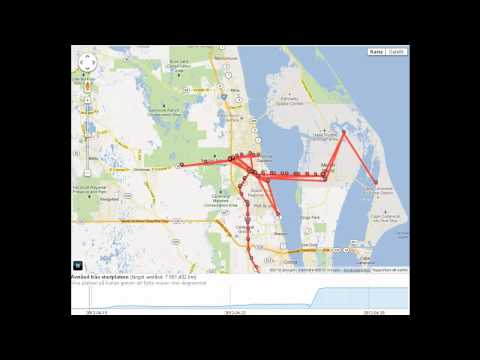 Road trip Miami-Dallas on Google Maps Part 1/6 | PopScreen