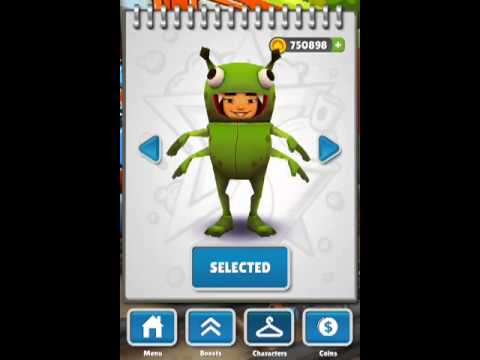 How to Get Unlock all Characters at - Subway Surf - Without Jailbreak