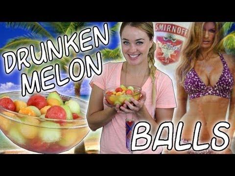 Drunken Melon Balls - TipsyBartender | PopScreen