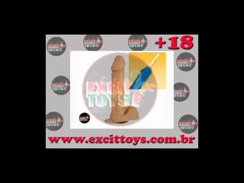 Pênis Realístico ejaculador Com Ventosa - Revenda de Lingerie para sacoleiras em Belo horizonte | PopScreen