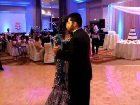 Nitin and Sonoo Afghan Hindu Wedding Reception | PopScreen