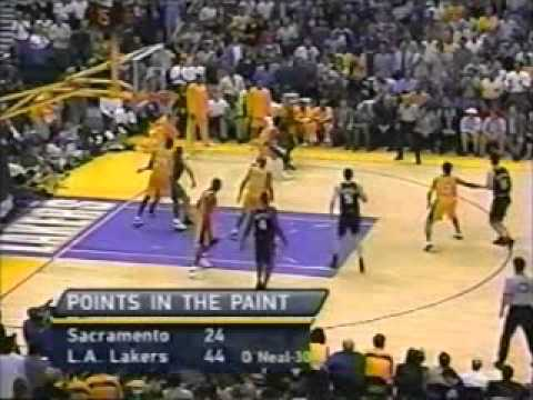 2001 NBA Playoffs: Kings at Lakers, Gm 2 part 9/13 | PopScreen