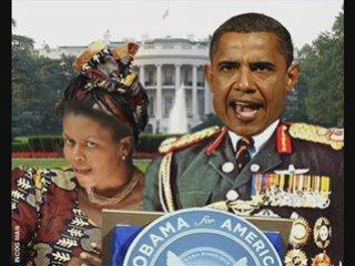 Obama et son épouse (parodie) | PopScreen