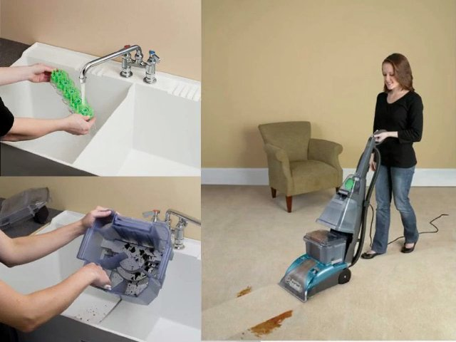 Hoover Steamvac Carpet Cleaner With Clean Surge - Carpet ...