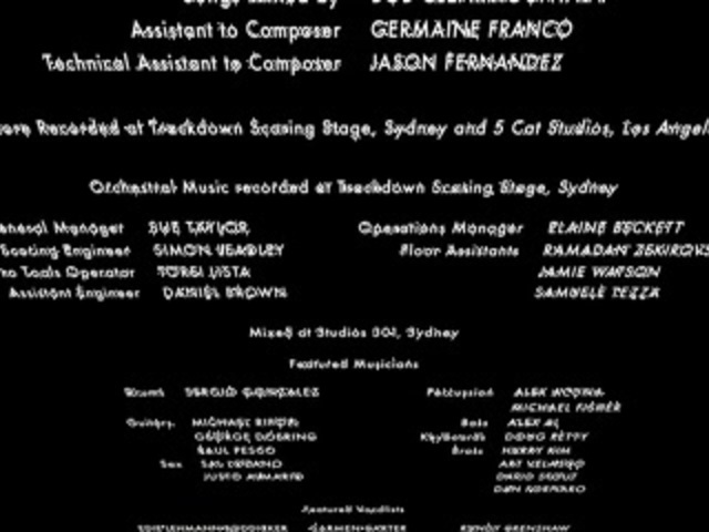 Happy Feet 2006 Closing Credits