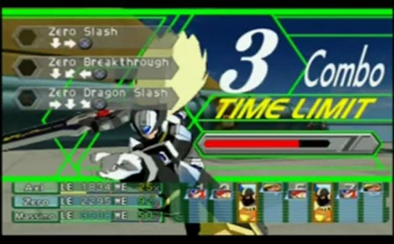 Megaman x Command Mission Gameplay Megaman x Command Mission