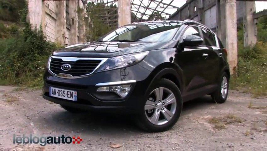 essai kia sportage test mod le 2010 popscreen. Black Bedroom Furniture Sets. Home Design Ideas