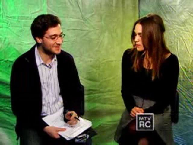 Keira Knightly On Sex Scene With James McAvoy | PopScreen